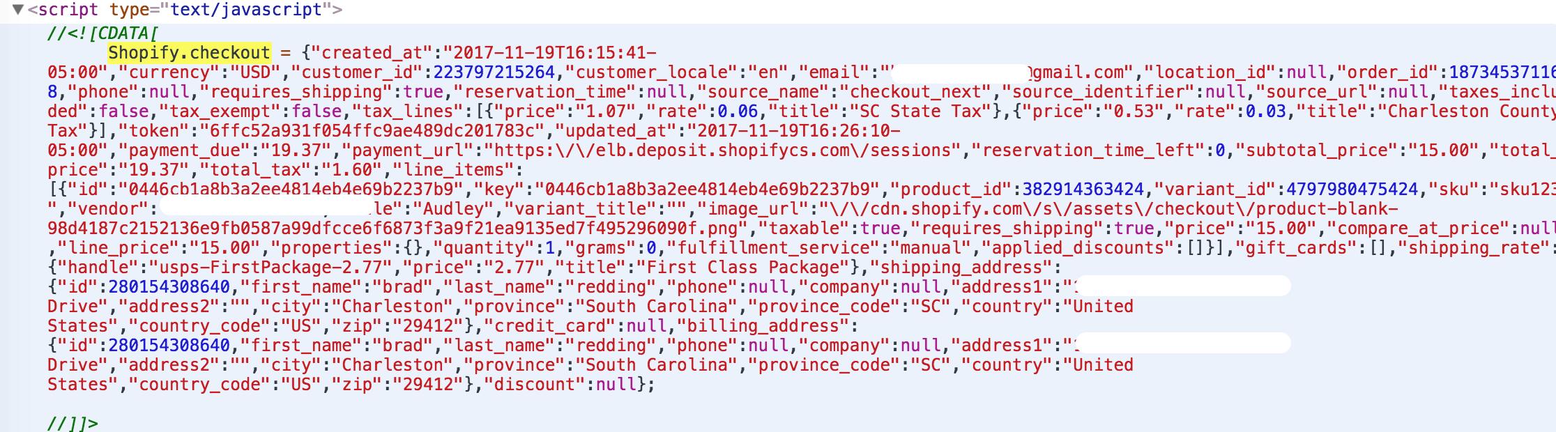 Shopify Script