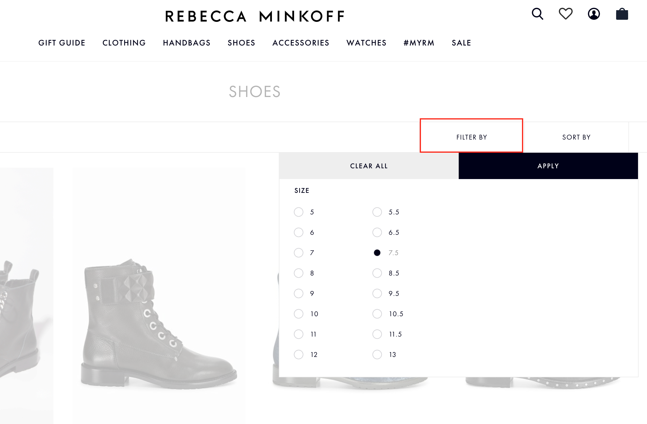 Layered Nav Filter