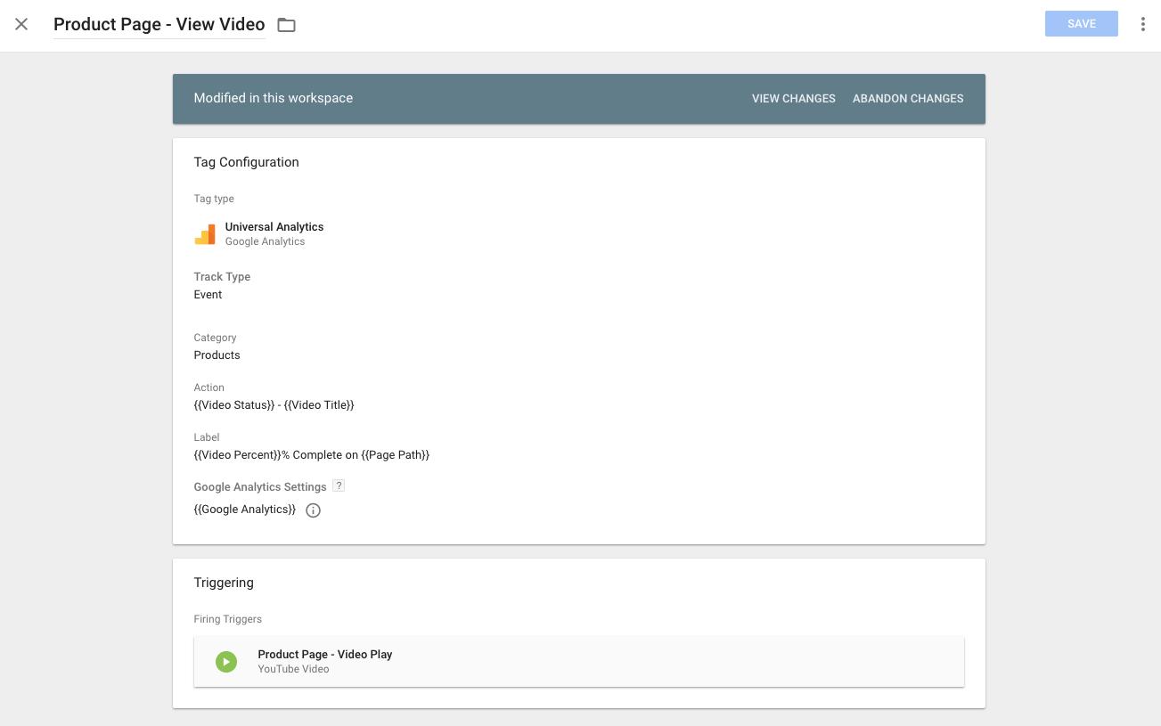 start video tag