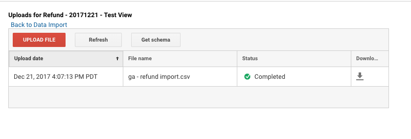 ga refund upload complete