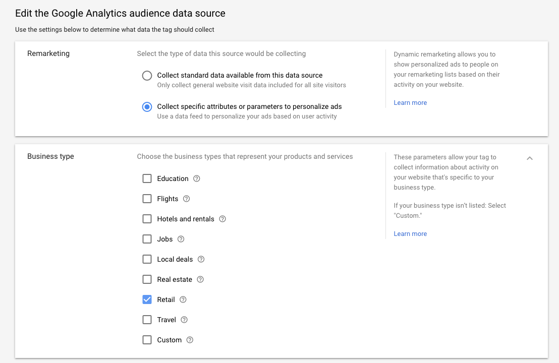 adwords google analytics retail source