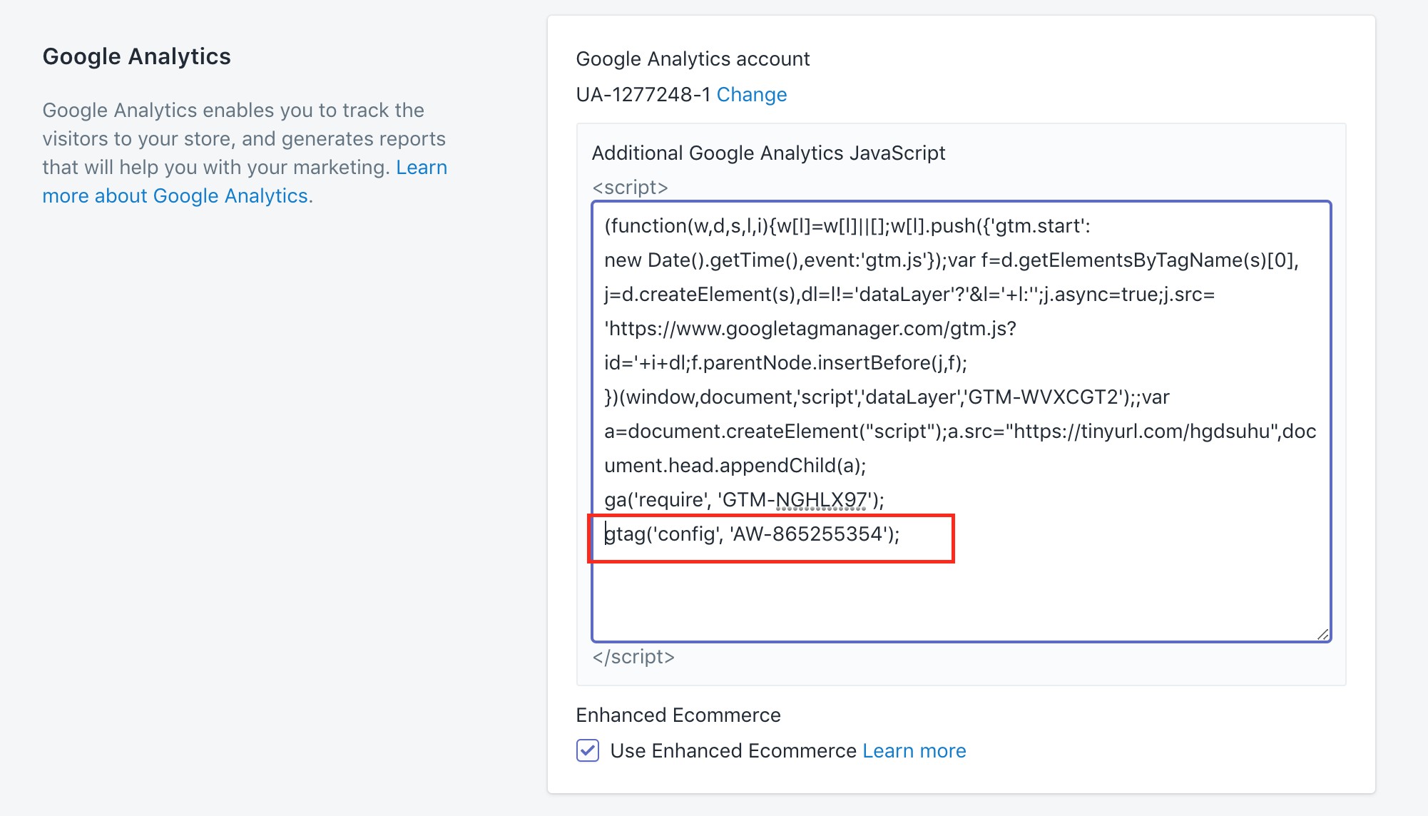adwords-snippet-gtag-in-shopify
