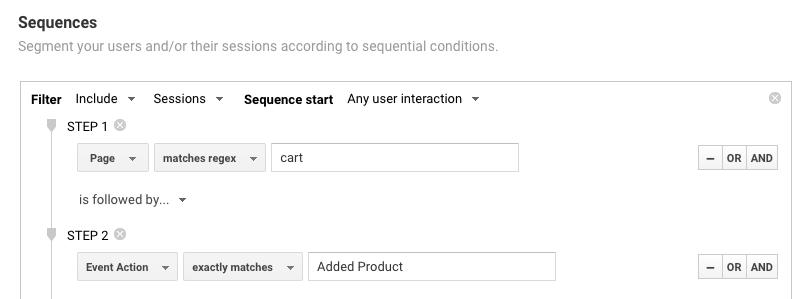step 2 sequence segment