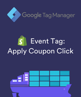 shopify apply coupon GTM event