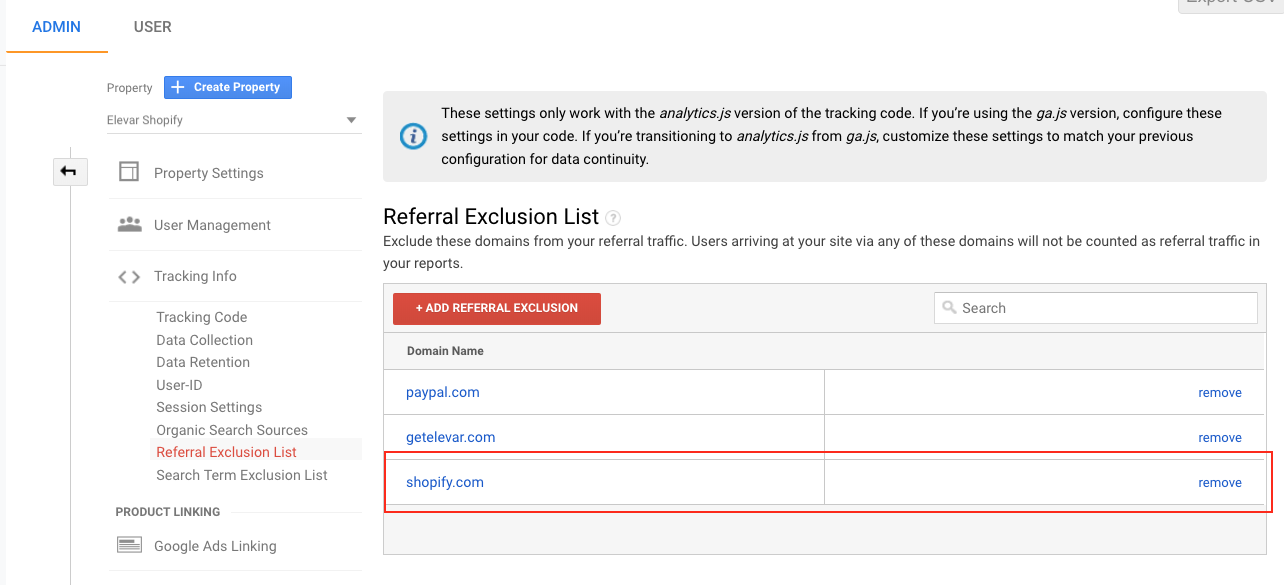 shopify-referral-exclusion